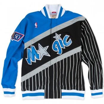 Warm Up NBA NY Knicks 1996-97 Mitchell&Ness Authentic blue | Mitchell & Ness