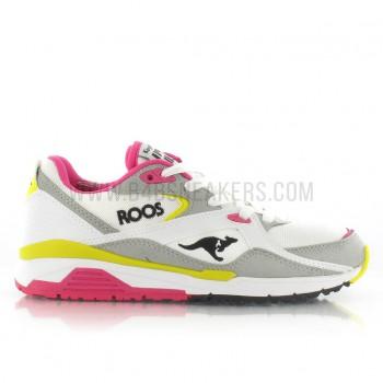 Sneakers femme Kangaroos Runaway blanc 47161-021   Kangaroos