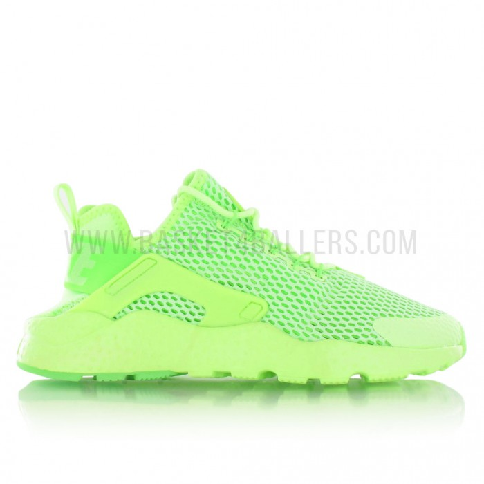 Nike Air Huarache Run Ultra Breathe Femme vert fluo