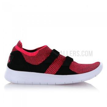 Nike Sock Racer Flyknit Femme black/white-racer pink   Nike