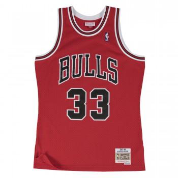 Swingman Jersey - Scottie Pippen  33 Red/black | Mitchell & Ness