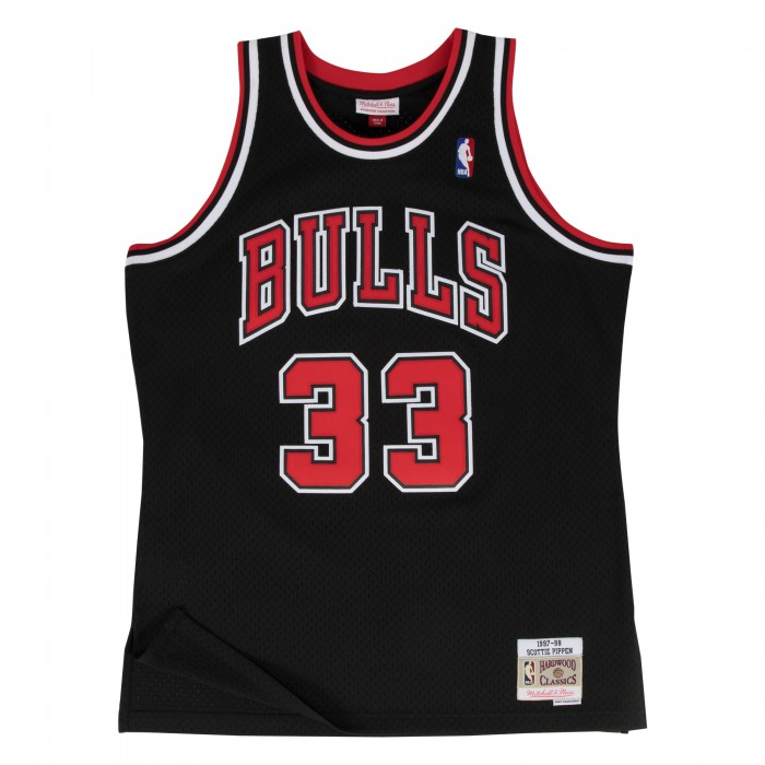 Swingman Jersey - Scottie Pippen  33 Black/red