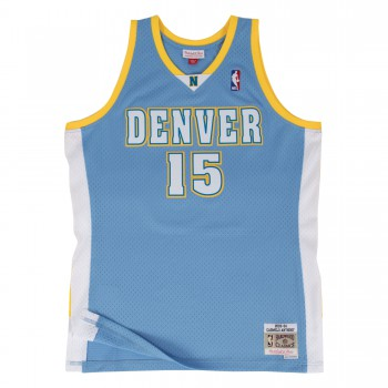 Swingman Jersey - Carmelo Anthony  15 Blue/white | Mitchell & Ness