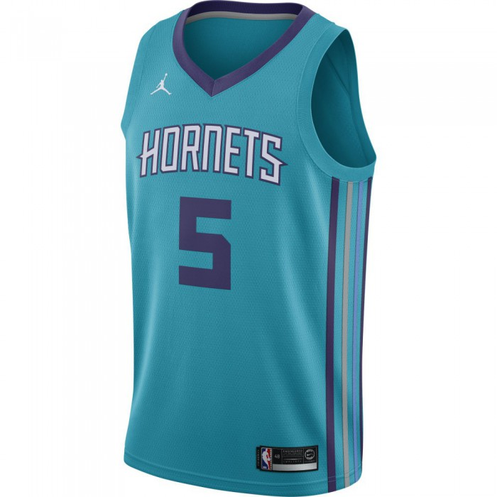 official photos 71eaa 60d1f Maillot Nicolas Batum Charlotte Hornets Jordan Icon Edition Swingman Jersey  rapid teal/new orchid