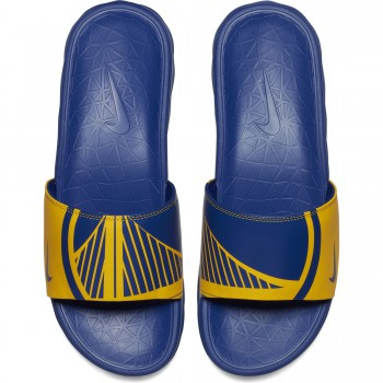 Claquette Nike NBA Golden State Warriors Benassi Solarsoft | Nike