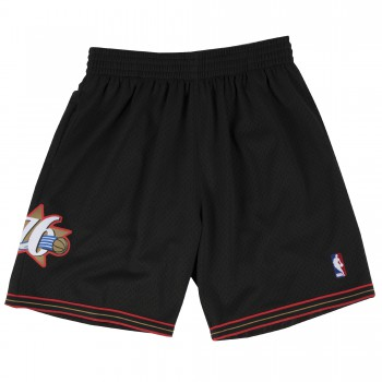 Short NBA Philadelphia 76ers Swingman Mitchell&Ness Black | Mitchell & Ness