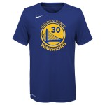 Color  Bleu du produit T-shirt NBA Enfant Stephen Curry GS Warriors Icon...