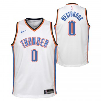 Maillot NBA Enfant Russel Westbrook OKC Thunder Swingman Association Nike | Nike