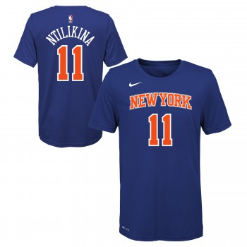 Icon Name & Number Ss Tee Knicks Ntilikina  Frank Nba Nike | Nike
