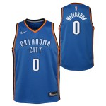 Color  Blue of the product Swingman Icon Jersey Player Thunder Westbrook...
