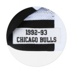 Warm Up NBA Chicago Bulls 1992-93 Mitchell&Ness Authentic White (image n°3)