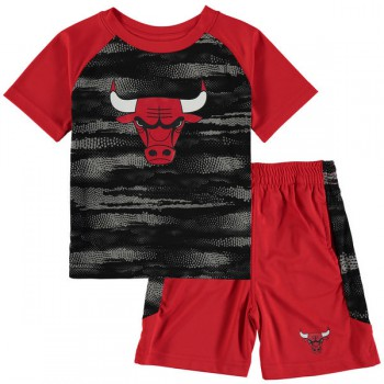 Double Dribble Tee & Short Set Bulls Nba Nike | Outerstuff