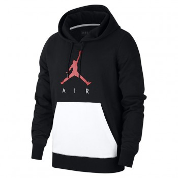 Sweat Jordan Sportswear Jumpman Air Lightweight black/white/gym red | Air Jordan