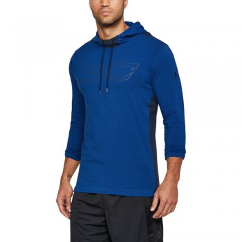 Sc30 Ls Hooded Tee-blu | Under Armour