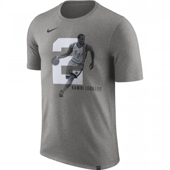 T-shirt Kawhi Leonard San Antonio Spurs Nike Dry dk grey heather | Nike