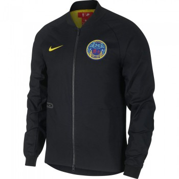 Veste Golden State Warriors City Edition Nike Modern black/amarillo | Nike