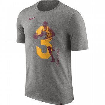 T-shirt Isaiah Thomas Cleveland Cavaliers Nike Dry dk grey heather | Nike