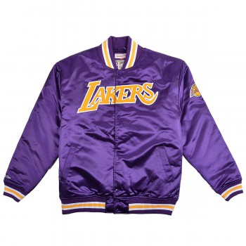 Satin Jackets Ba583u-lal-l-g14-2xl | Mitchell & Ness