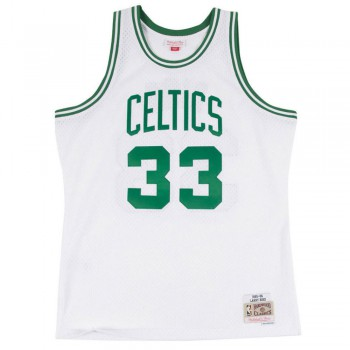 Swingman Jersey - Larry Bird  33 Mn-nba-353j-340-fgylbi-boscel-wht-2xl | Mitchell & Ness