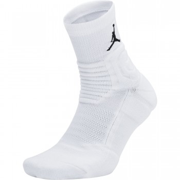 Chaussettes Jordan Ultimate Flight Quarter 2.0 Basketball Socks white/black | Air Jordan