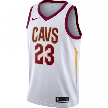 Maillot Lebron James Association Edition Swingman (cleveland Cavaliers) white/team red/university gold | Nike