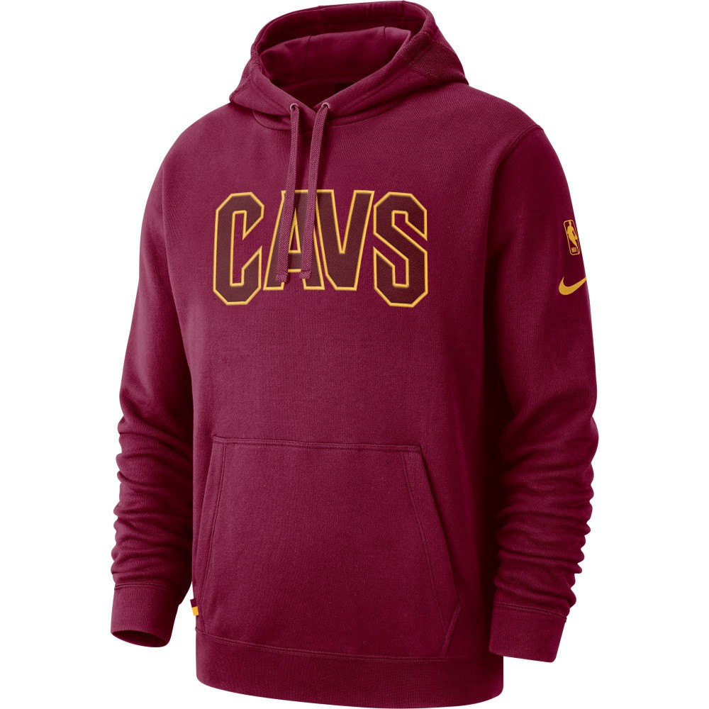 Sweat Cleveland Cavaliers Nike team red university gold (image n°1) 2f01e93b3