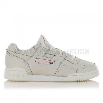 Reebok Workout Lo Plus Femme vintage-white/practical pink | Reebok