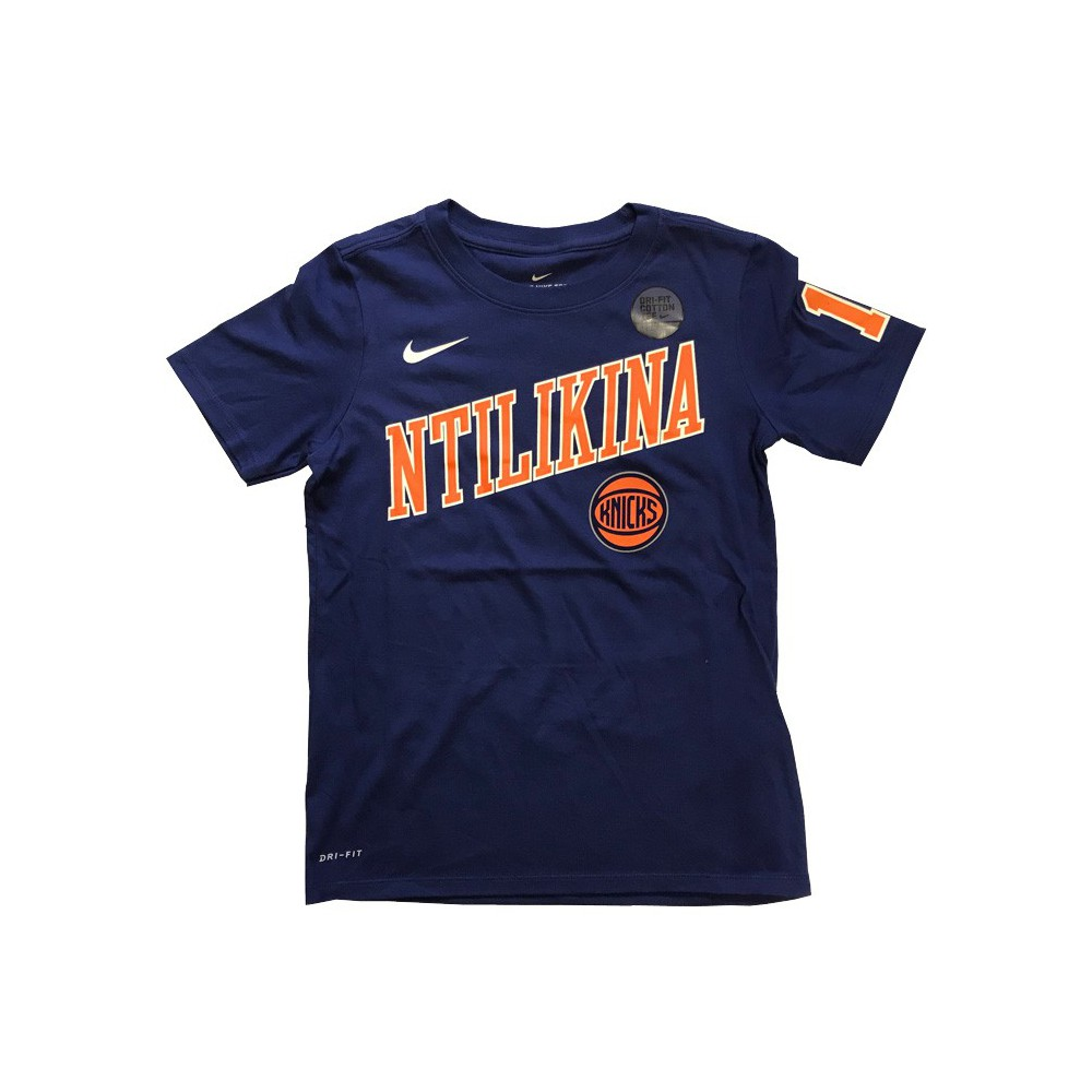 Dry Tee Es Player Name Knicks Ntilikina Frank Nba Nike. Loading zoom ece3462cd
