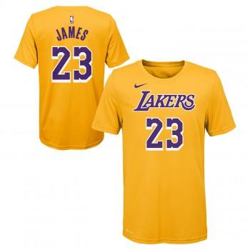 Icon Name & Number Ss Tee Lakers Lebron James Nba Nike | Nike