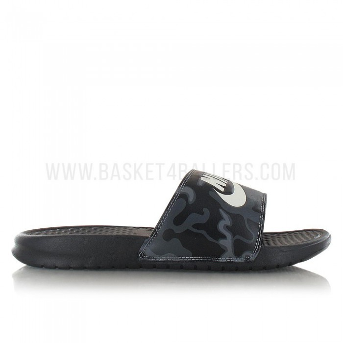 "Claquettes Nike Benassi ""just Do It."" Print Camo"