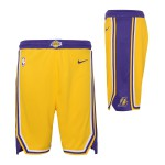 Color  Jaune du produit Short NBA Enfant Los Angeles Lakers Swingman Icon Nike