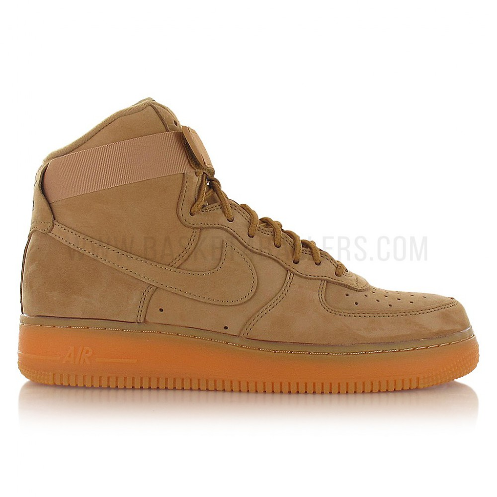 finest selection 85e3a e47c8 Nike Air Force 1 High  07 Lv8 Wb Wheat (image n°1)