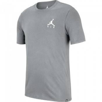 T-shirt Jordan Sportswear Jumpman Air Embroidered carbon heather/white | Air Jordan