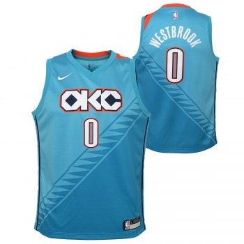 City Edition Swingman Thunder Westbrook Russell Nba Nike  2c6ad1941