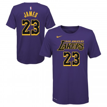 City Edition Dry N&n S/s Tee Lakers Lebron James Nba Nike | Nike