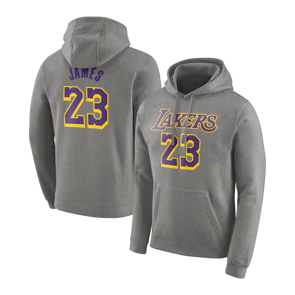 the best attitude 2f7de ac109 Hoodie Po N&n Essential Lakers Lebron James Nba Nike ...