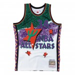 Fashion All Star Swingman Jersey - Hakeem Olajuwon Smjyng18434-aswwhit95hol-xl (image n°4)