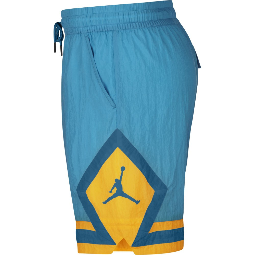 online retailer 1834c 6af90 Short Jordan Diamond Poolside lt blue fury university gold green abyss  (image n