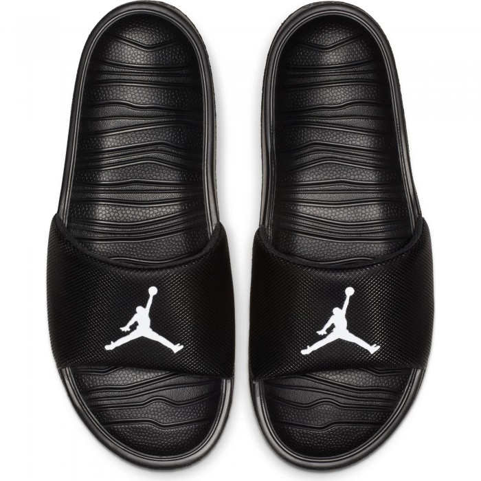 Claquettes Jordan Break black/white