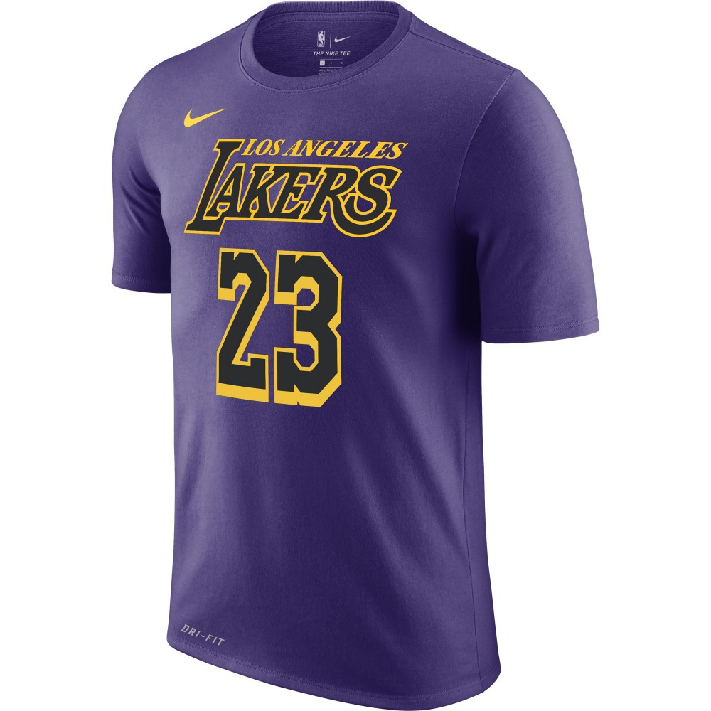 new arrival 82716 4fae0 T-shirt Los Angeles Lakers City Edition Nike Dri-fit court ...