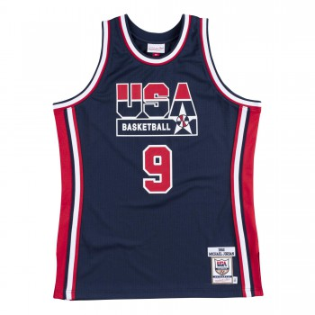 new style e0a8f f118d Authentic Jersey Nba - Michael Jordan Ajy4gs18414-usanavy92mjo-xs