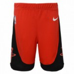 Color  Red of the product Icon Replica Short Rockets Nba Nike