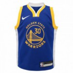 Color  Blue of the product Replica Icon Road Jersey - Warriors Curry Stephen...