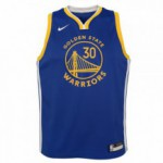 Color  Bleu du produit Maillot NBA Enfant Stephen Curry GS Warriors Nike...