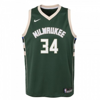 Maillot NBA Enfant Giannis Antetokounmpo Milwaukee Bucks Swingman Nike | Nike