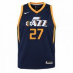 Color  Blue of the product Swingman Icon Jersey Player Jazz Gobert Rudy Nba Nike