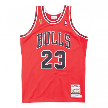 Authentic Jersey '95 Chicago Bulls Ajy4gs18075-cbuscar95mjo-2xl NBA | Mitchell & Ness