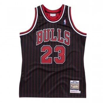 Authentic Jersey '95 Chicago Bulls Ajy4lg19002-cbublck95mjo-2xl NBA | Mitchell & Ness