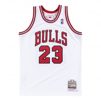Authentic Jersey '97 Chicago Bulls Ajy4gs18398-cbuwhit97mjo-2xl NBA | Mitchell & Ness
