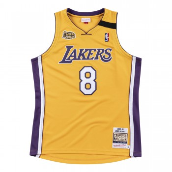 Authentic Jersey '99 La Lakers Ajy4cp19001-lalltgd99kbr-2xl NBA | Mitchell & Ness